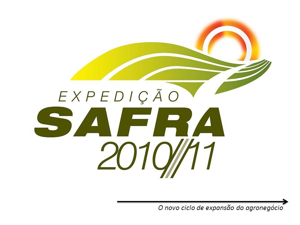 O novo ciclo de expansão do agronegócio Evolução Sul-Americana (soja)