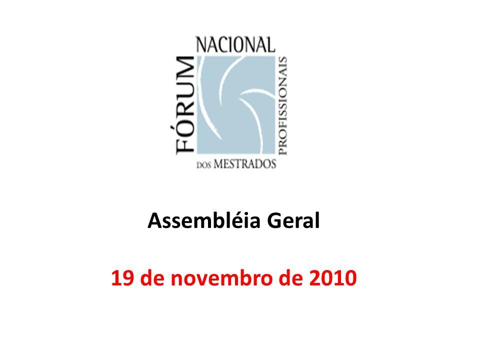 Assembléia Geral 19 de novembro de 2010