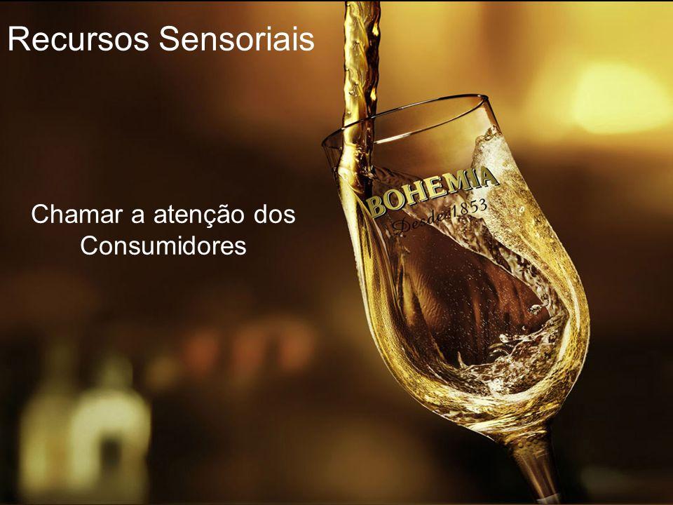 Recursos Sensoriais Chamar a atenção dos Consumidores