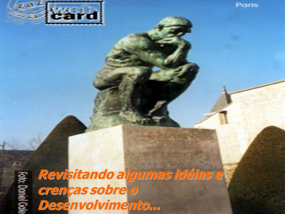 Perspectiva histórica e o Marco conceitual do Desenvolvimento Humano Anos 80, século xx- Idéia do desenvolvimento Humano...