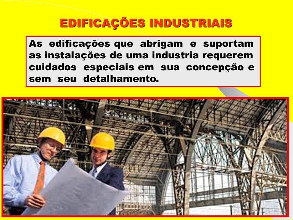 Grupo de Estudos da Logística em Pernambuco www.marciliocunha.com.br edificações industriais As edificações industriais tem por objetivos básicos: proteger as instalações e seus operadores contra os efeitos dos agentes da natureza.