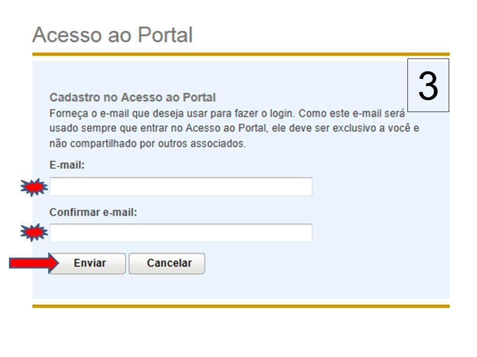 VALIDAR O ENDEREÇO DE E-MAIL.