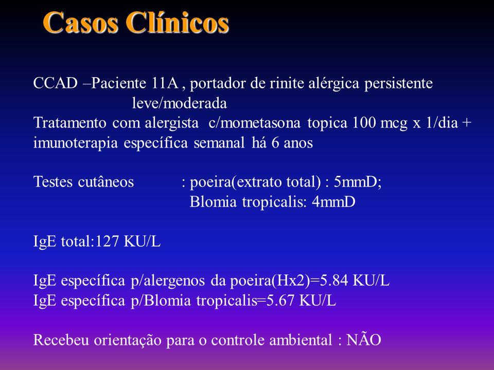 Alergia no Brasil- controle do ambiente e sua importância em doenças alérgicas PROF. ATAUALPA P. DOS REIS