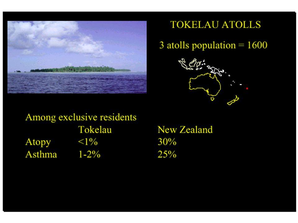 WESTERN Lifestyle and increased prevalence of atopic diseases Investigação da presença de doenças atópicas numa população de nativos das ilhas Papua n