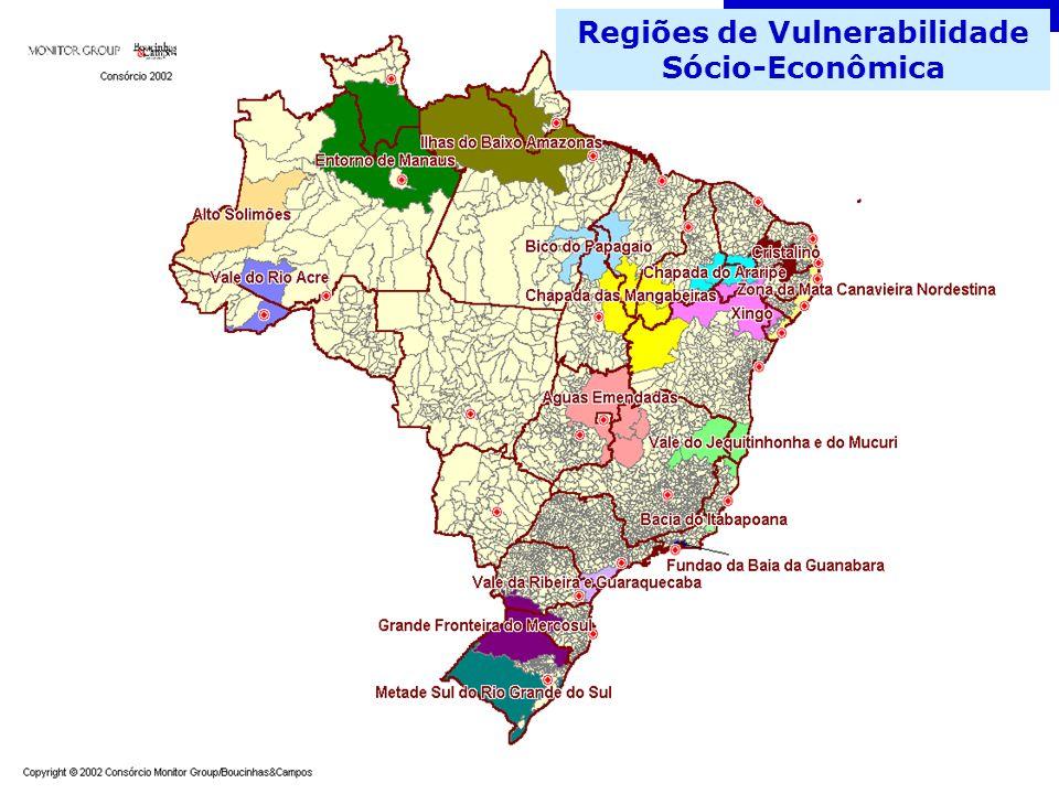 Regiões de Vulnerabilidade Sócio-Econômica