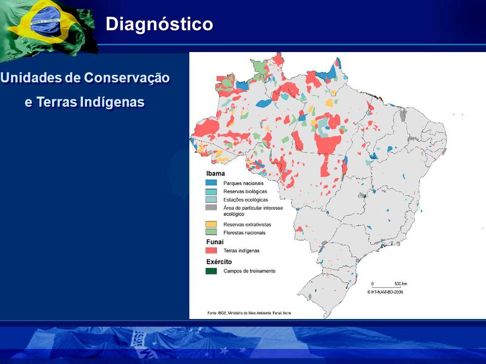 Diagnóstico Unidades de Conservação e Terras Indígenas Unidades de Conservação e Terras Indígenas