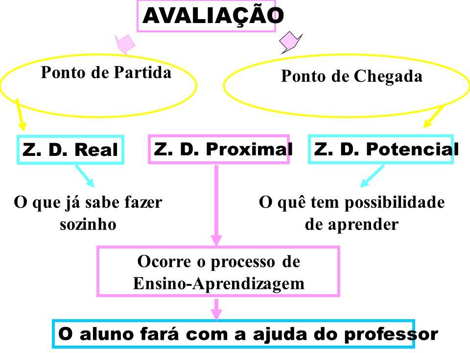 AVALIAÇÃO Z. D. Real Z. D. ProximalZ. D.