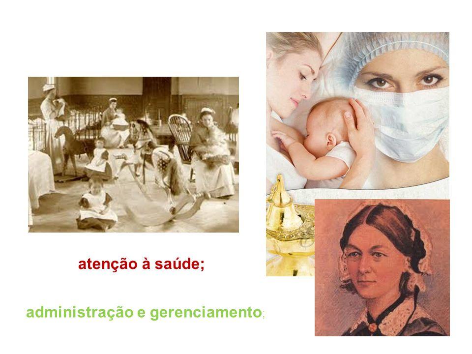administração e gerenciamento ; atenção à saúde;