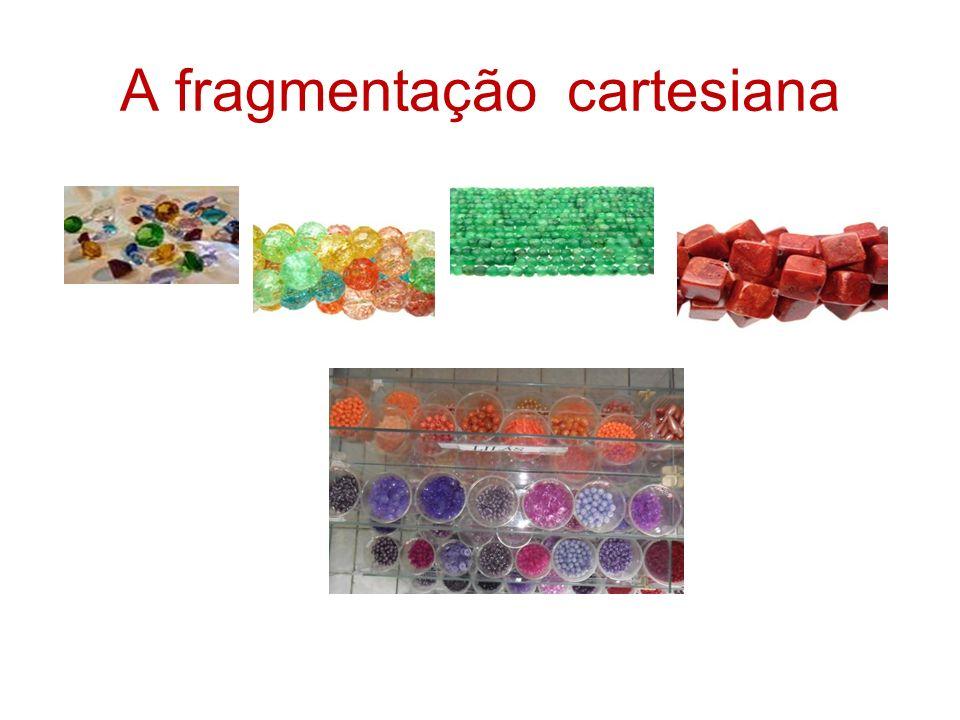 A fragmentação cartesiana