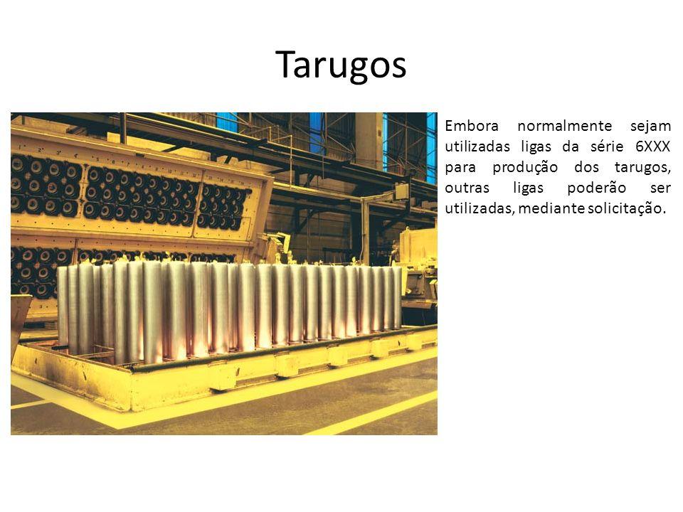 Bobinas por Fundição Contínua (Caster) Possuem tratamento em linha de desgaseificação, filtragem e refino do grão, resultando em um material com padrão CBA de qualidade metalúrgica e mecânica para relaminação.