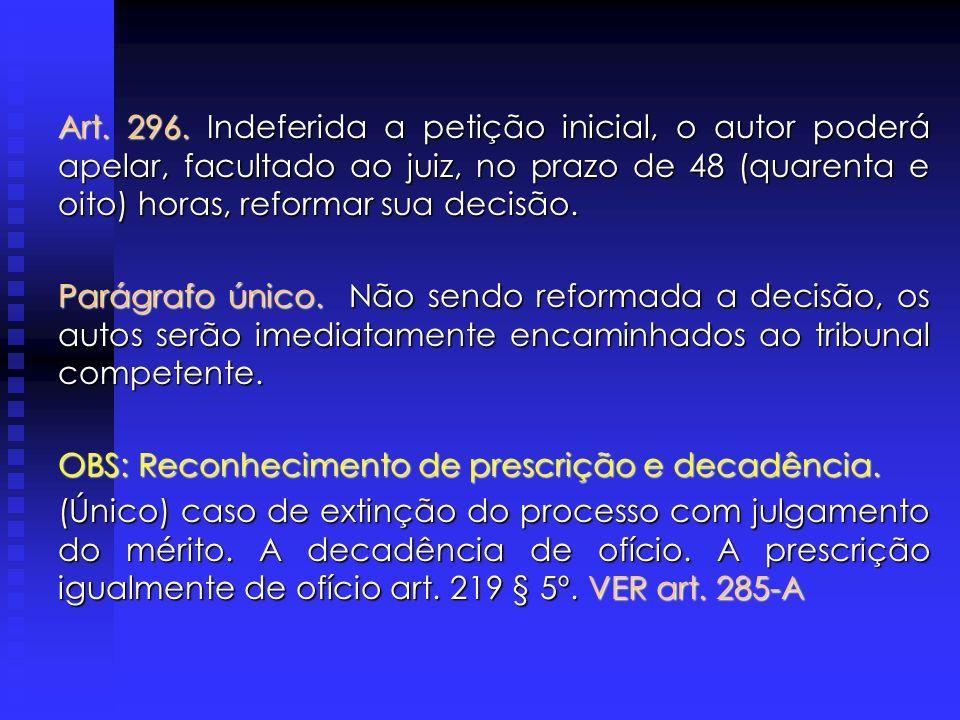 CITAÇÃO DIRETA O ART.