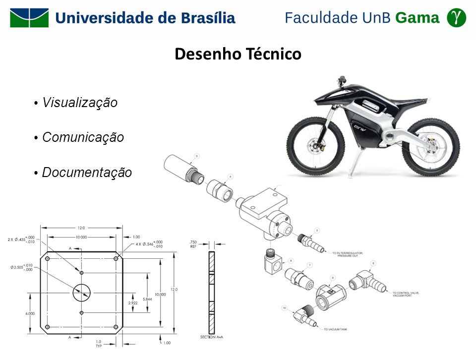 Desenho Técnico Visualização Comunicação Documentação