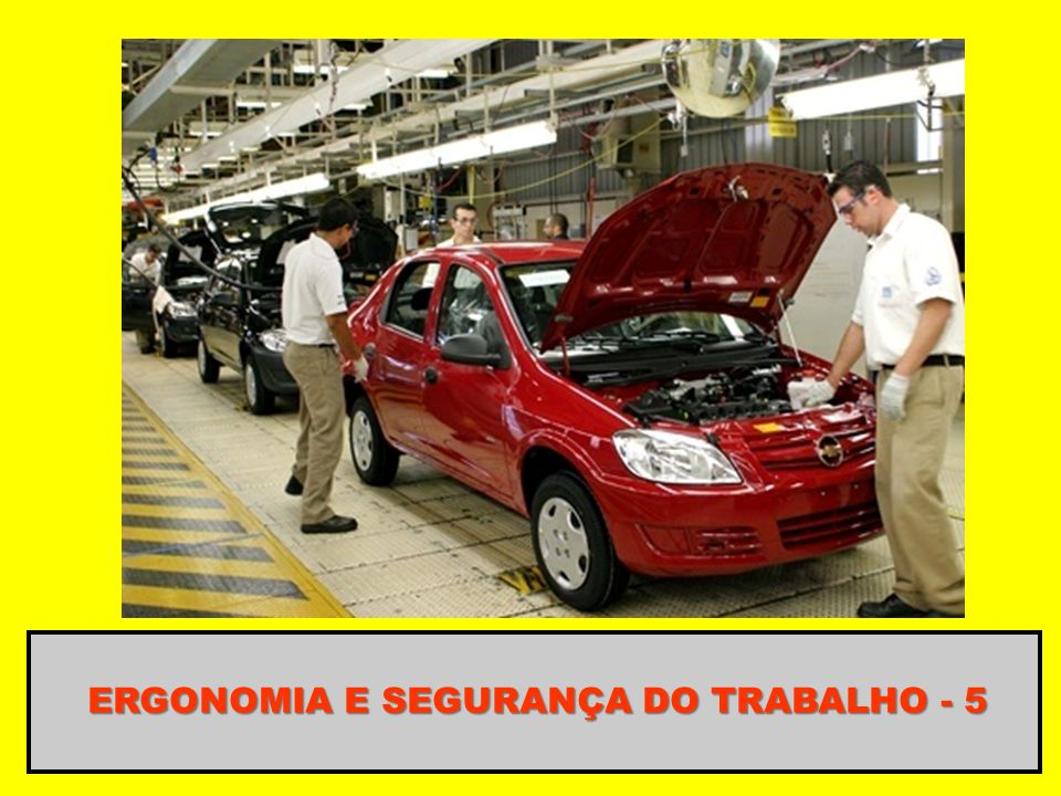 ERGONOMIA E SEGURANÇA DO TRABALHO - 5