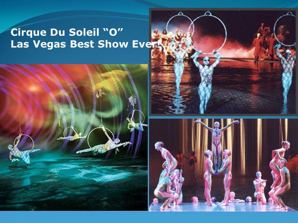 Cirque Du Soleil O Las Vegas Best Show Ever!