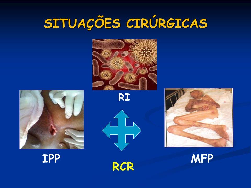 SITUAÇÕES CIRÚRGICAS RCR IPP RI MFP