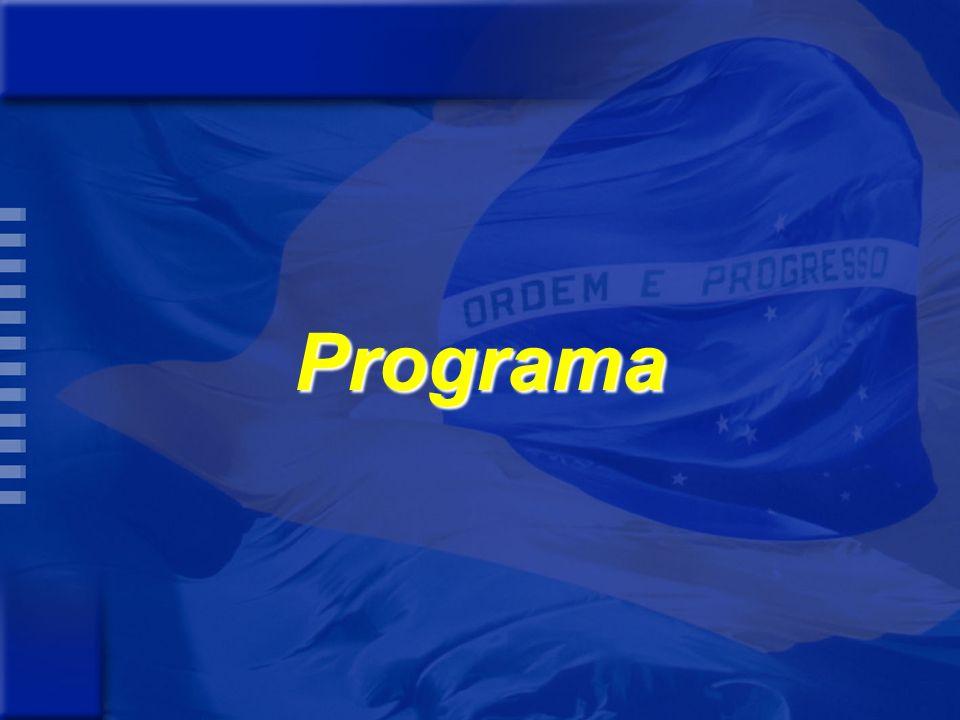 Orientação Estratégica de Governo Modelo de Desenvolvimento Desafios Orientação Estratégica dos órgãos Objetivos Setoriais Priorização de Programas Revisão dos Programas e Ações Revisão e Ajustes da Previsão de Recursos Previsão de Recursos por Ação Previsão de Recursos por Programa Consolidação - Revisão PPA (2006 e 2007) -Anexo da LDO Validação dos Programas Revisão e Ajustes das Ações dos Programas Previsão de Recursos por órgãos F A S E Q U A L I T A T I V A F A S E Q U A N T I T A T I V A Processo de Revisão de Programas do PPA 2004-2007 – Base PPA 2004-2007