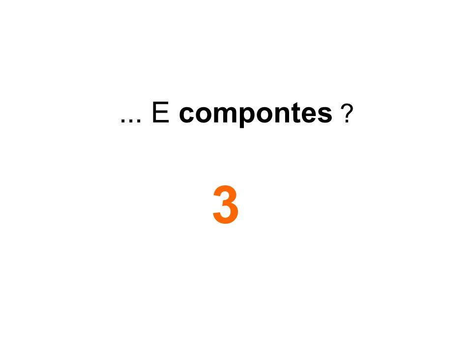 ... E compontes ? 3