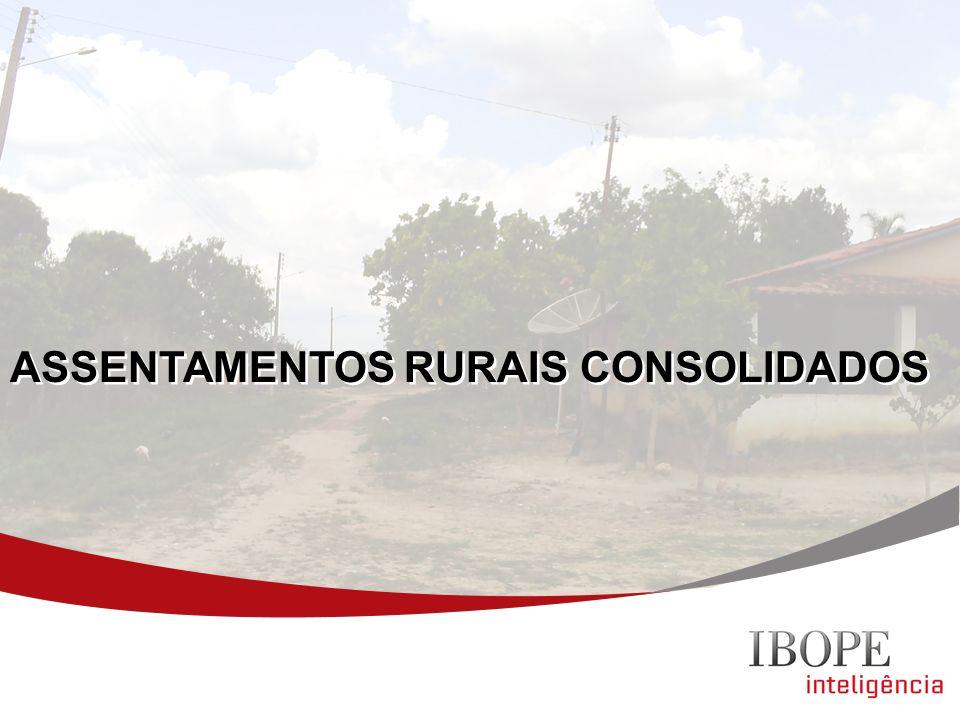 ASSENTAMENTOS RURAIS CONSOLIDADOS