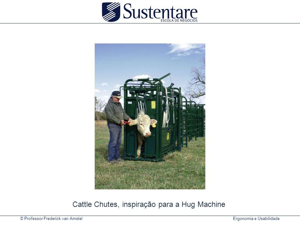 © Professor Frederick van Amstel Ergonomia e Usabilidade Cattle Chutes, inspiração para a Hug Machine