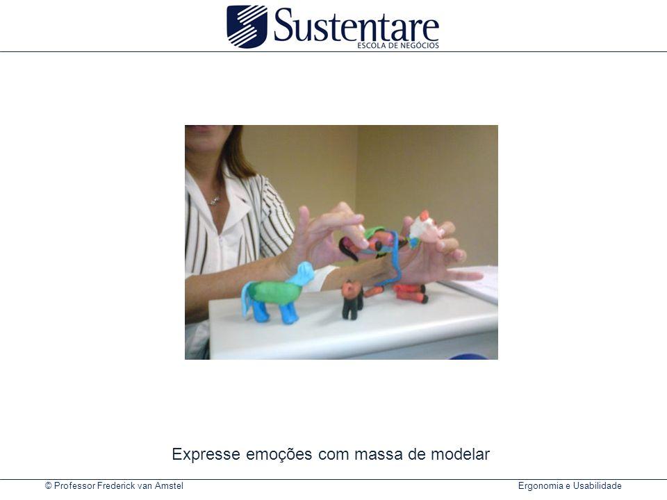 © Professor Frederick van Amstel Ergonomia e Usabilidade Expresse emoções com massa de modelar