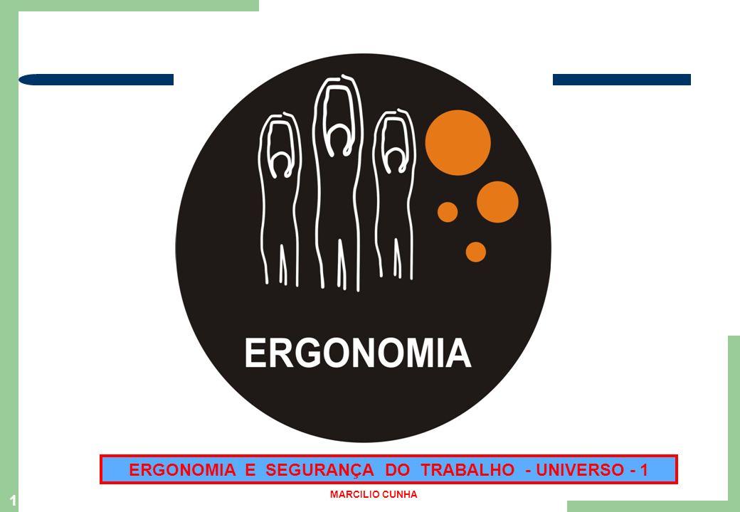ERGONOMIA E SEGURANÇA DO TRABALHO - UNIVERSO - 1 1 MARCILIO CUNHA