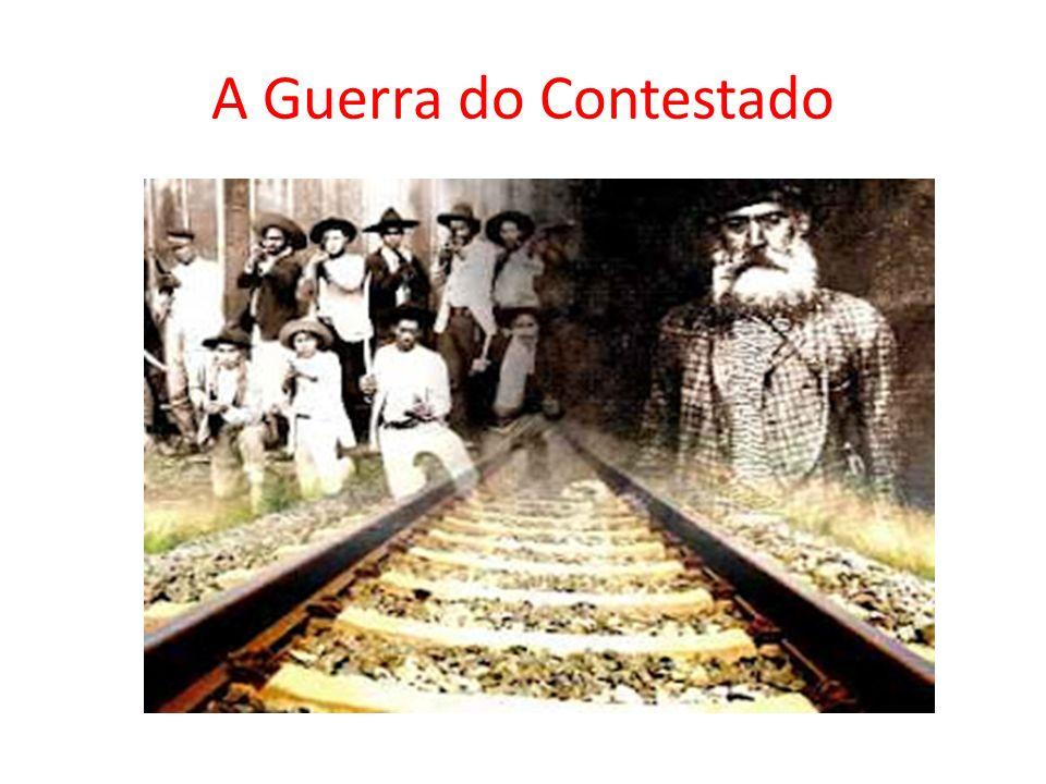 A Guerra do Contestado foi um conflito armado entre camponeses e militares dos poderes estadual e federal brasileiros, que ocorreu no início do século XX, mais precisamente no ano de 1912 se estendendo até 1916.