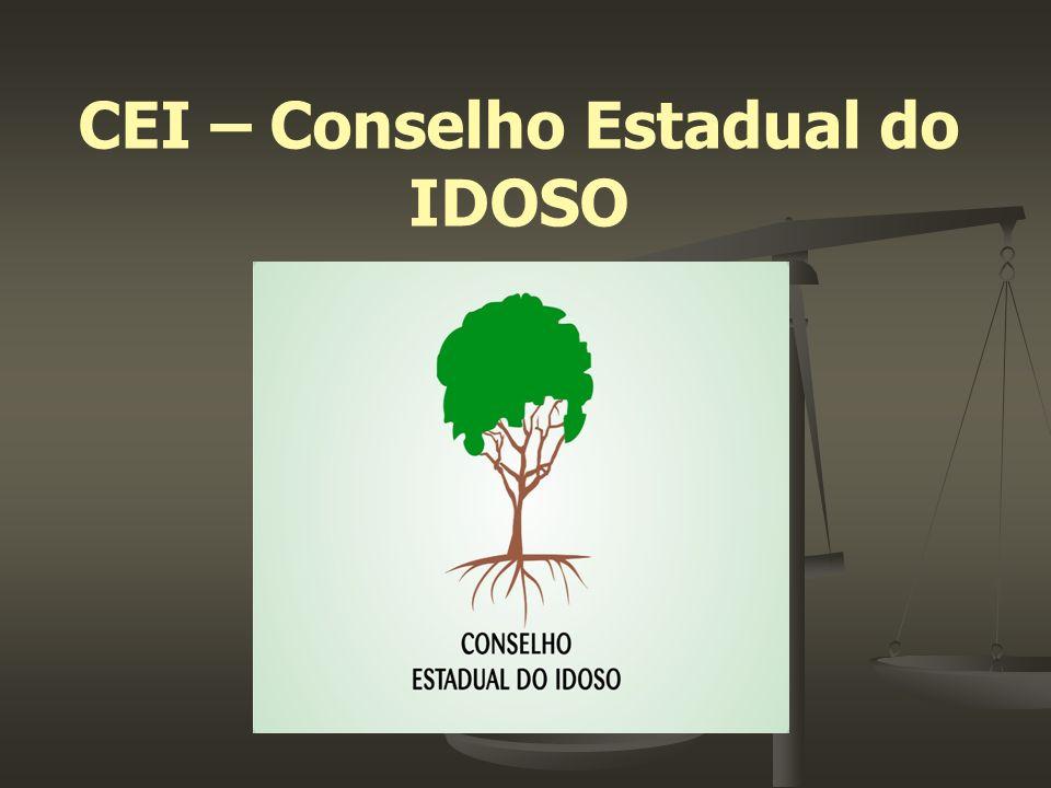 CEI – Conselho Estadual do IDOSO
