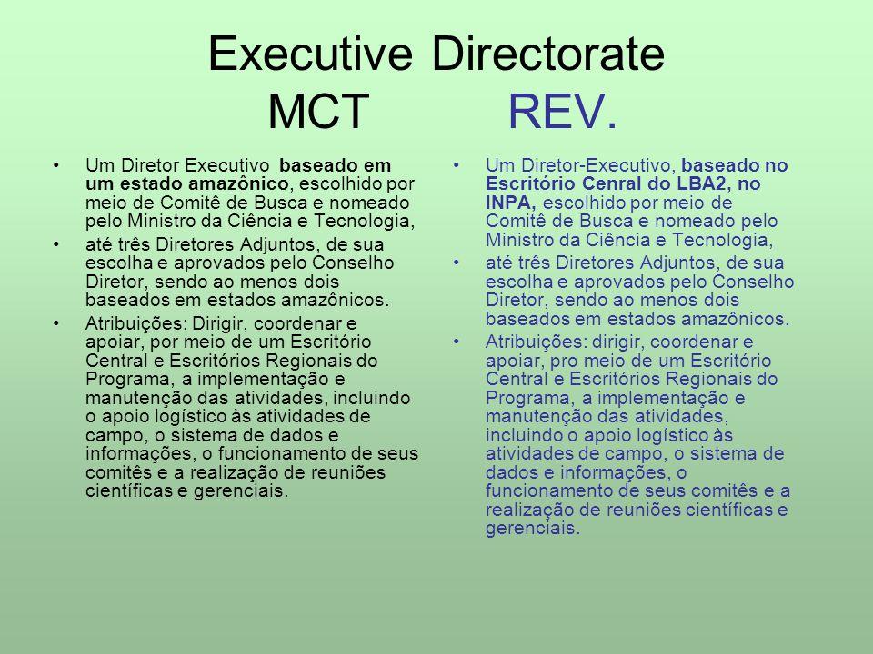 Science Steering Committee MCT REV.
