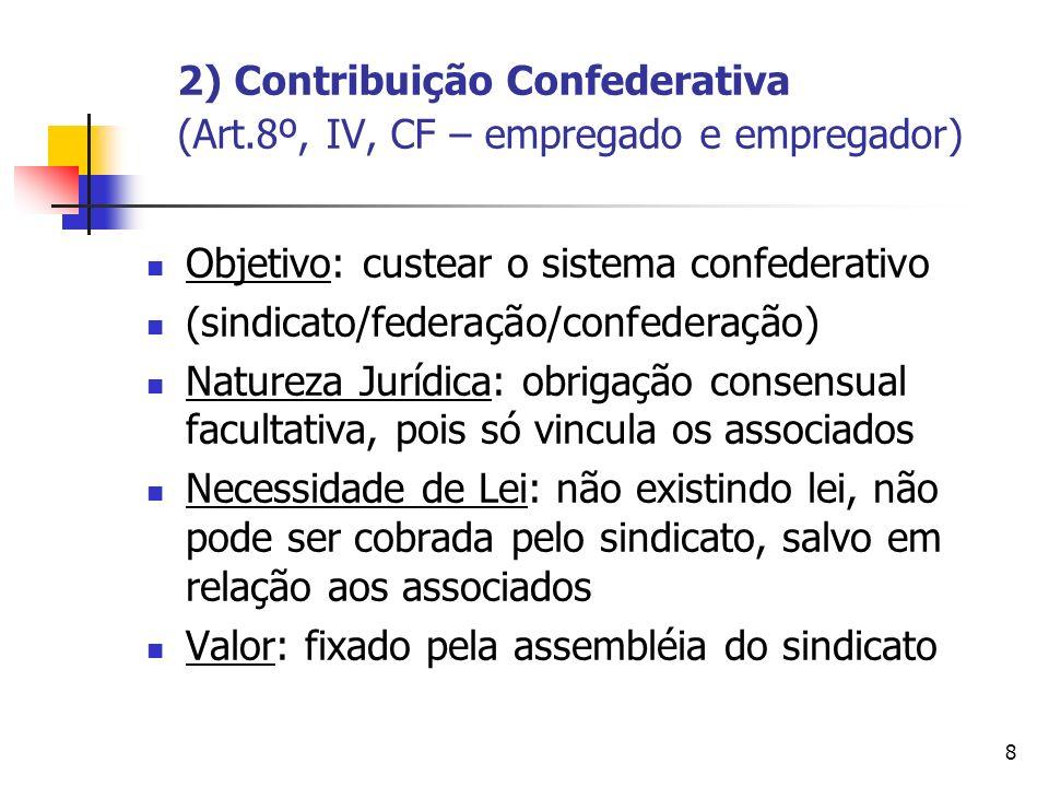 9 3) Contribuição Assistencial (art.