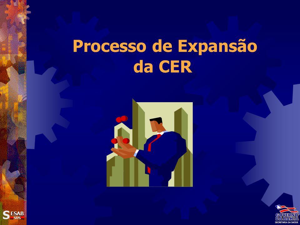 Processo de Expansão da CER SS ESAB SUS SECRETARIA DA SAÚDE