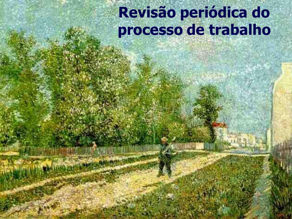 Revisão periódica do processo de trabalho