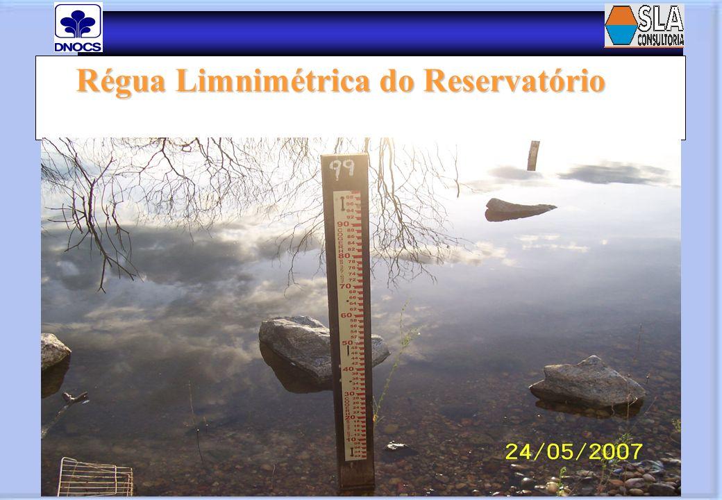 Régua Limnimétrica do Reservatório Régua Limnimétrica do Reservatório