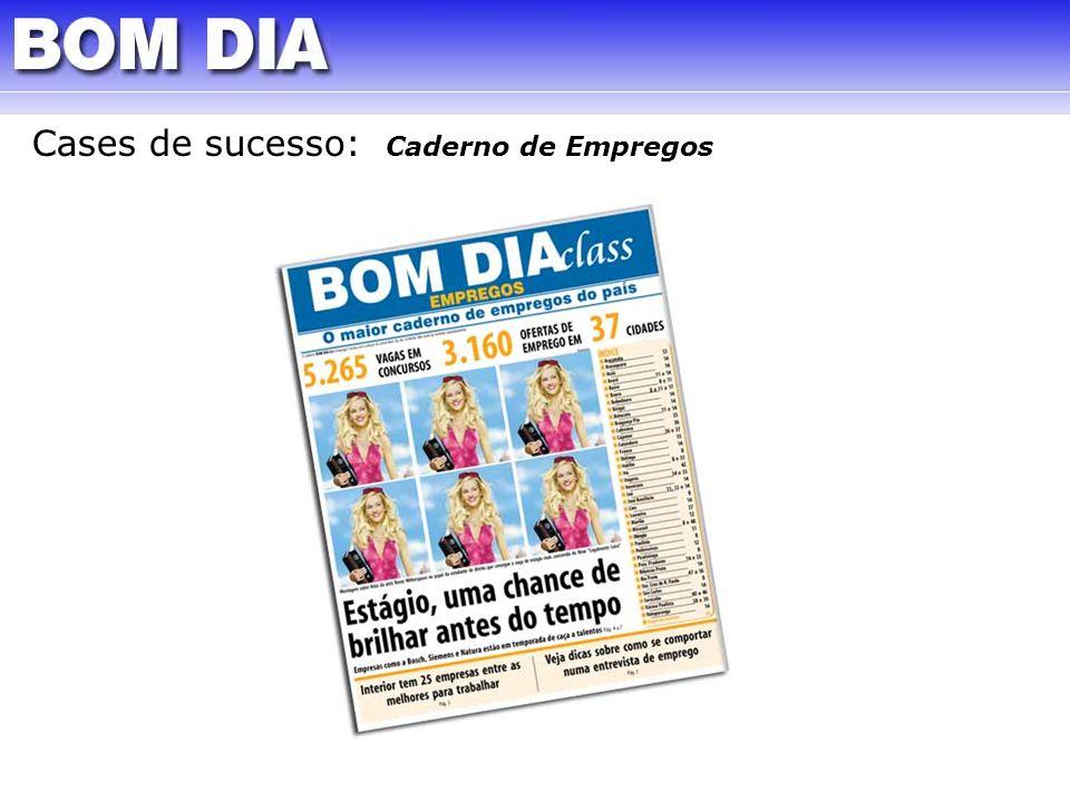 Cases de sucesso: Caderno de Empregos