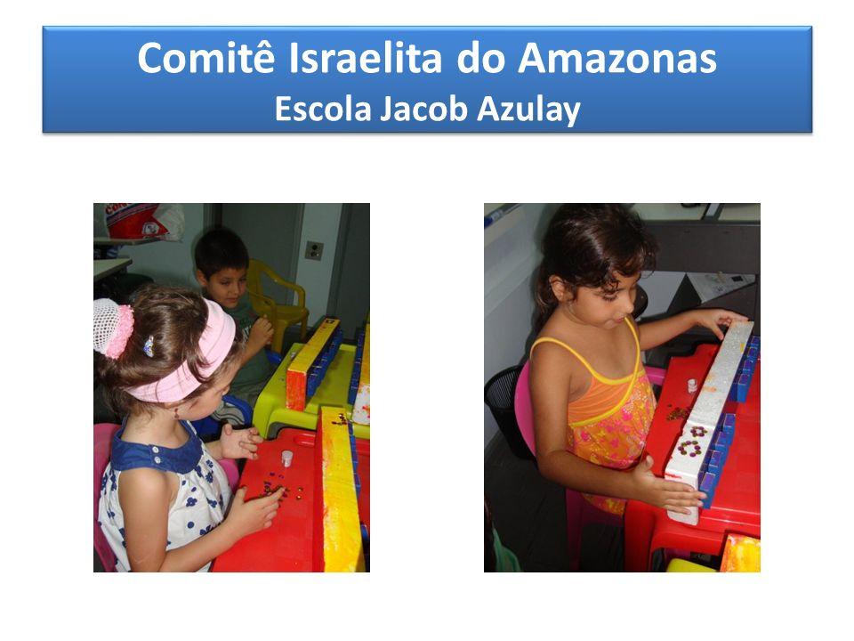 Comitê Israelita do Amazonas Escola Jacob Azulay TURMAS ALEF e BEIT Atividade de apoio Super CD com as músicas infantis de todas as festas judaicas.