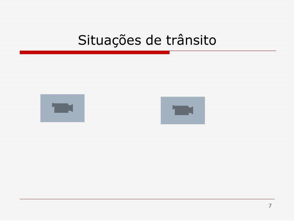 7 Situações de trânsito