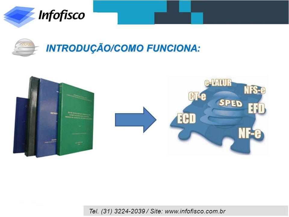 Tel. (31) 3224-2039 / Site: www.infofisco.com.br INTRODUÇÃO/COMO FUNCIONA: