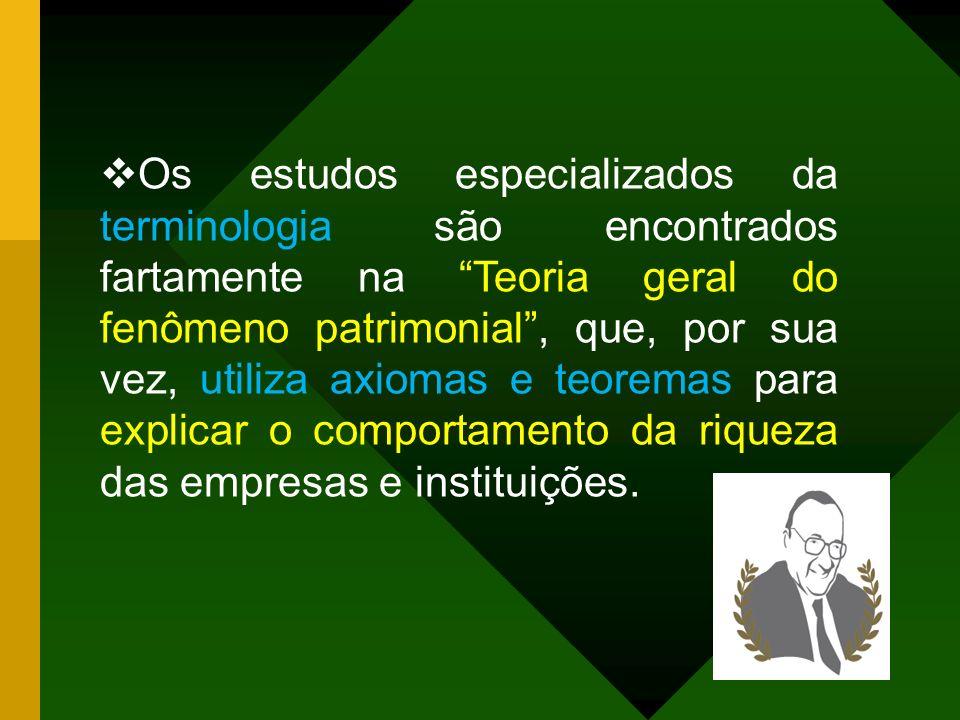 A terminologia na teoria neopatrimonialista pode ser definida como o estudo e tratamento de termos técnicos e científicos. A identidade da área está v
