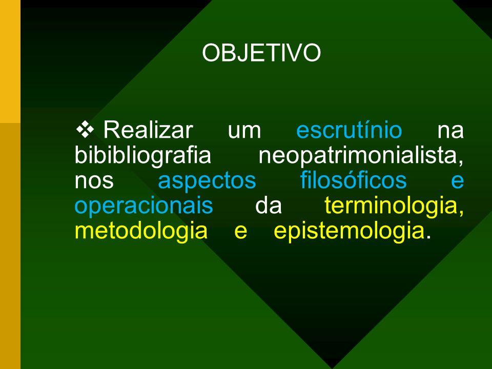 A METODOLOGIA A TERMINOLOGIA A EPISTEMOLOGIA