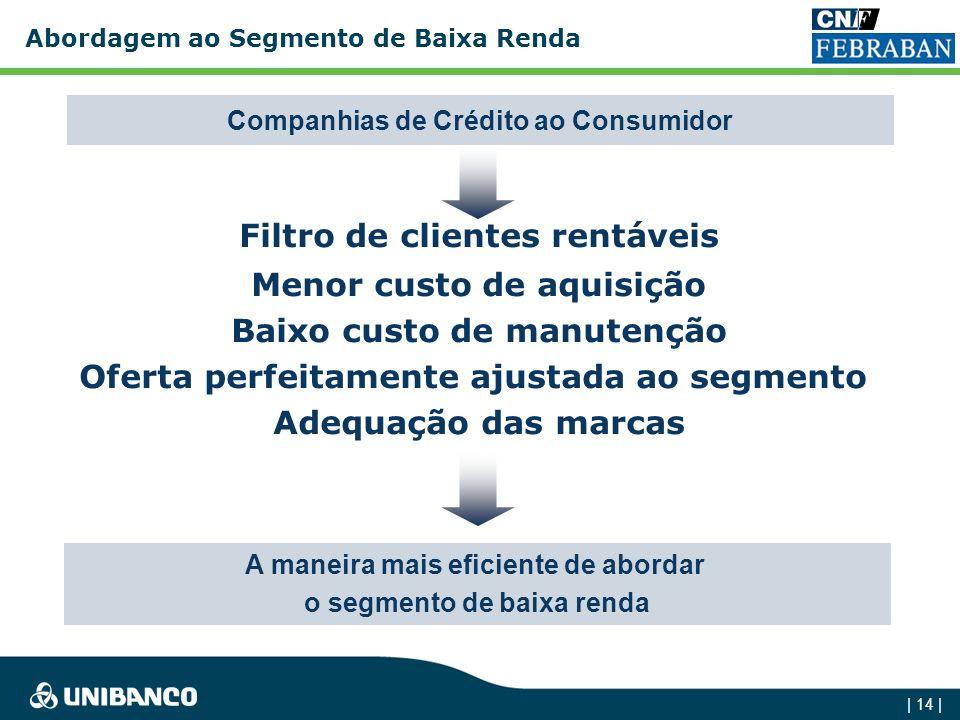 | 13 | A segunda transição (2001-2005) A busca do crédito ao consumidor