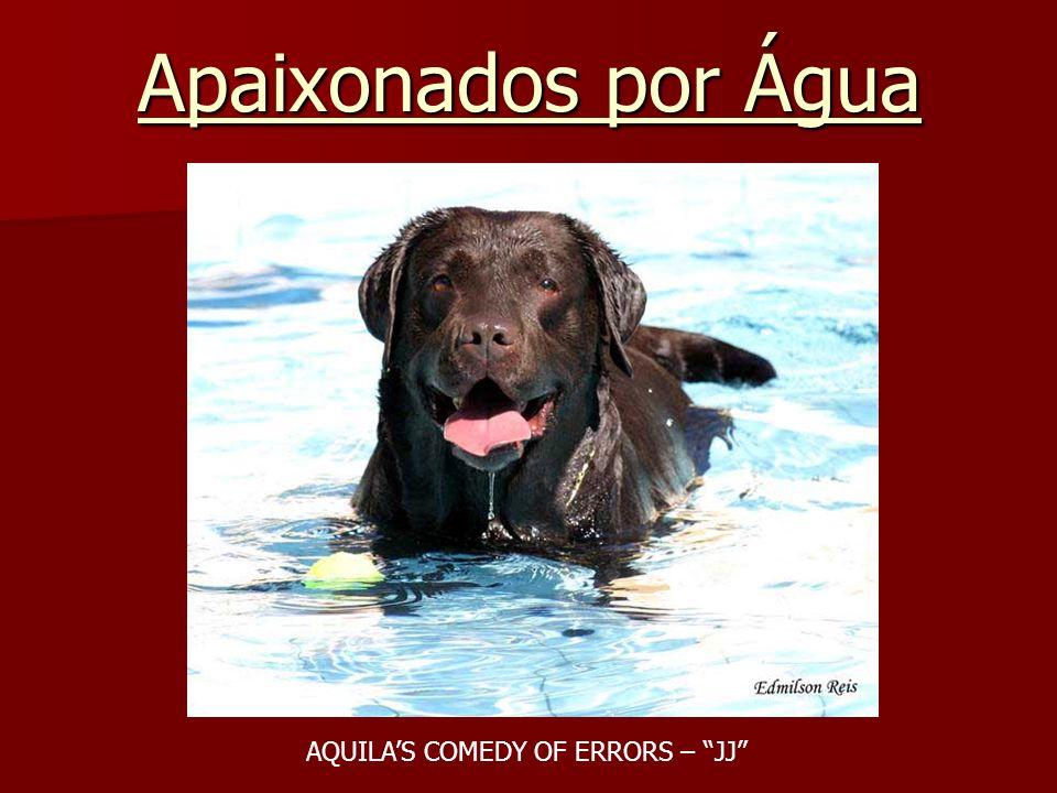 Apaixonados por Água AQUILAS COMEDY OF ERRORS – JJ