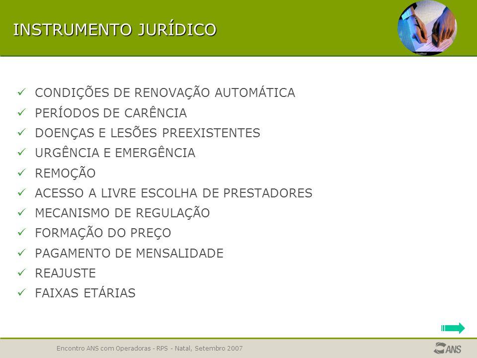 Encontro ANS com Operadoras - RPS - Natal, Setembro 2007 TEMA REMOÇÃO – 63,84% REPROVADOS REMOÇÃO INTERHOSPITALAR Regras do artigo 12 II e da Lei 9656/98 NOS PLANOS HOSPITALARES PARA OUTRO ESTABELECIMENTO HOSPITALAR DENTRO DA ÁREA DE ABRANGÊNCIA COMPROVADAMENTE NECESSÁRIA A remoção inter-hospitalar FORA da área de abrangência é considerada como Serviço e Cobertura Adicional, devendo ser prevista em tema próprio e informada no aplicativo RPS.