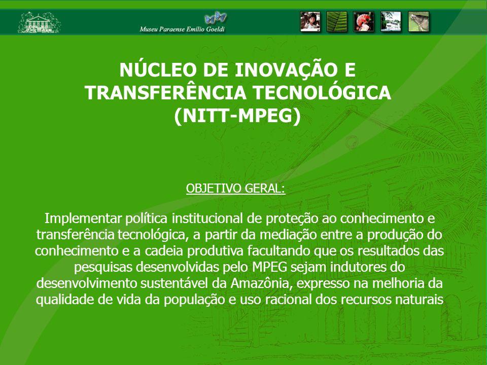Implementar política institucional de proteção ao conhecimento e transferência tecnológica, a partir da mediação entre a produção do conhecimento e a