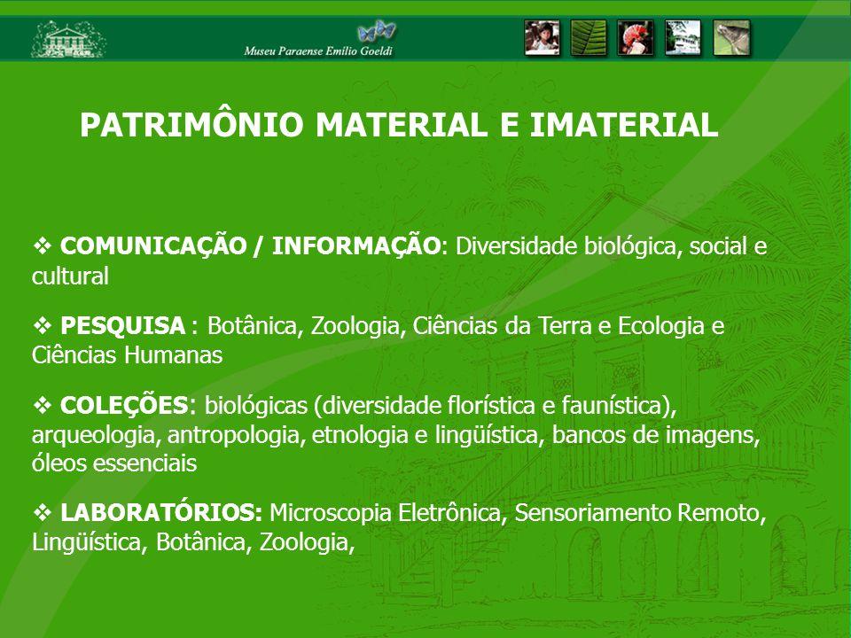 Implementar política institucional de proteção ao conhecimento e transferência tecnológica, a partir da mediação entre a produção do conhecimento e a cadeia produtiva facultando que os resultados das pesquisas desenvolvidas pelo MPEG sejam indutores do desenvolvimento sustentável da Amazônia, expresso na melhoria da qualidade de vida da população e uso racional dos recursos naturais NÚCLEO DE INOVAÇÃO E TRANSFERÊNCIA TECNOLÓGICA (NITT-MPEG) OBJETIVO GERAL: