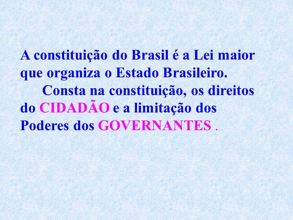 Outras mudanças ocorridas na constituição que são consideradas importantes Instituição de eleições majoritárias em dois turnos; Voto facultativo para