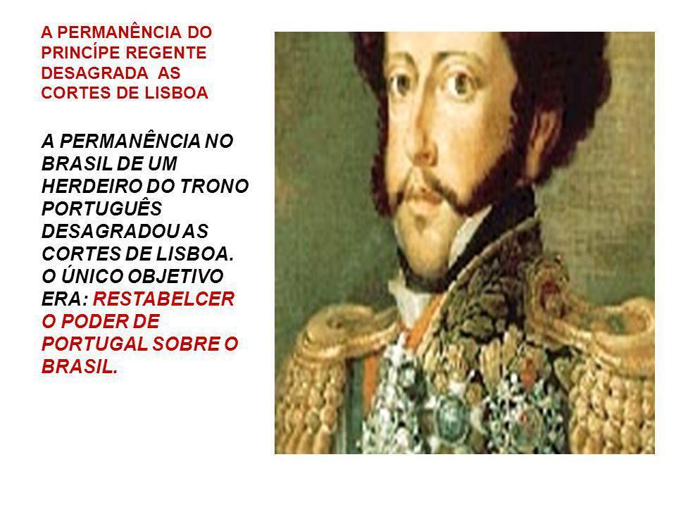 D. JOÃO VI: UM REI QUE AMAVA O BRASIL A VOLTA PARA PORTUGAL D. JOÃO VI, PROCUROU ADIAR A DECISÃO E CONCILIAR OS INTERESSES. MAS DEPOIS, SOB PRESSÃO DA