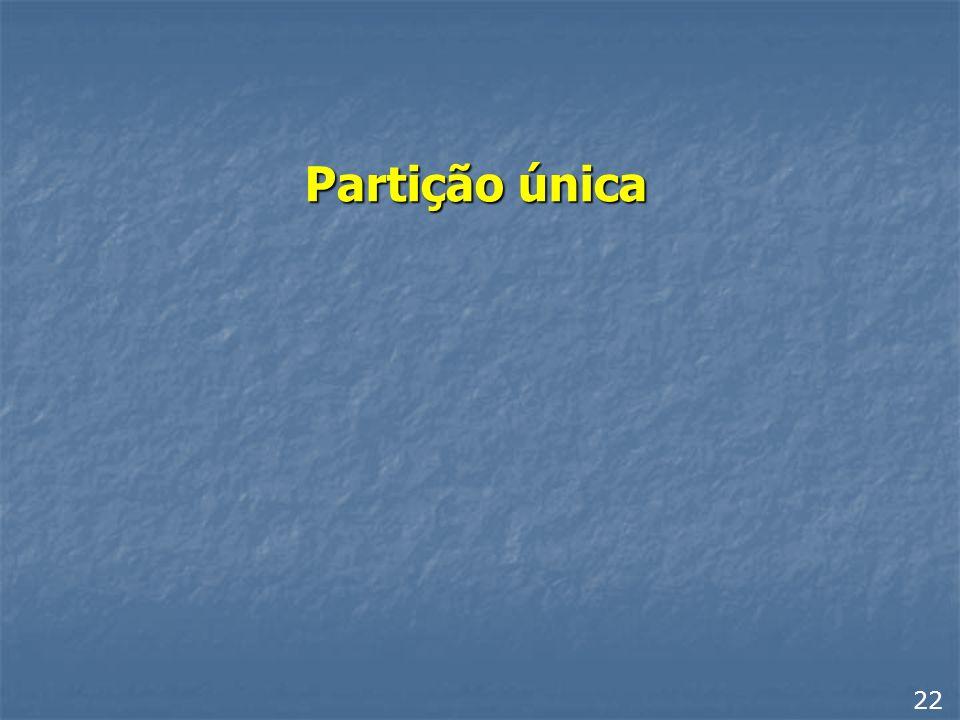 Dividindo o disco em três ou mais A partição primária é sempre o drive C, mas a partição estendida pode ser dividida em várias UNIDADES LÓGICAS (ou dr
