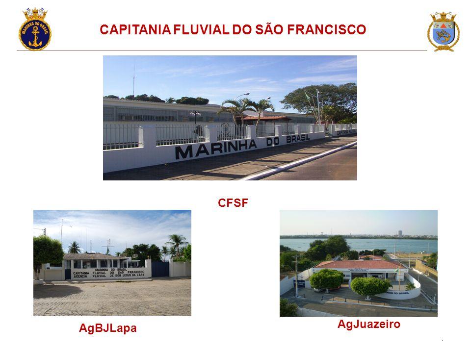 6 CAPITANIA FLUVIAL DO SÃO FRANCISCO AgJuazeiro CFSF AgBJLapa