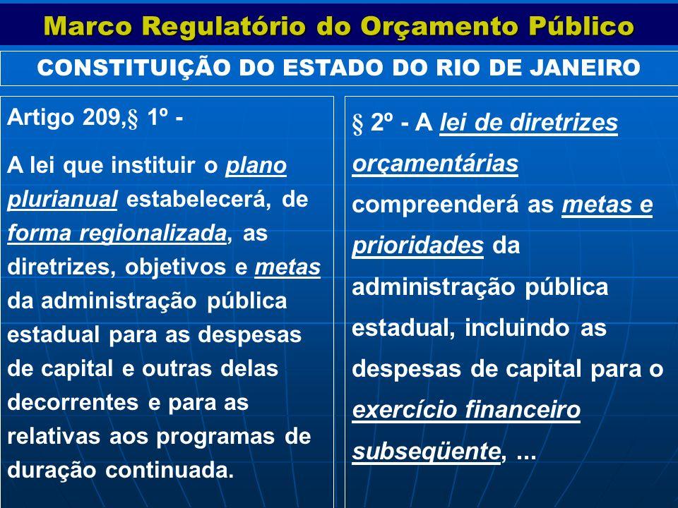 § 2º - A lei de diretrizes orçamentárias compreenderá as metas e prioridades da administração pública estadual, incluindo as despesas de capital para
