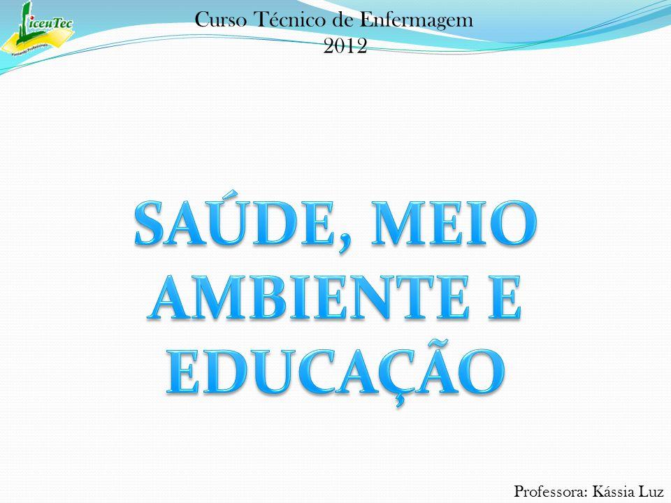 Professora: Kássia Luz Curso Técnico de Enfermagem 2012