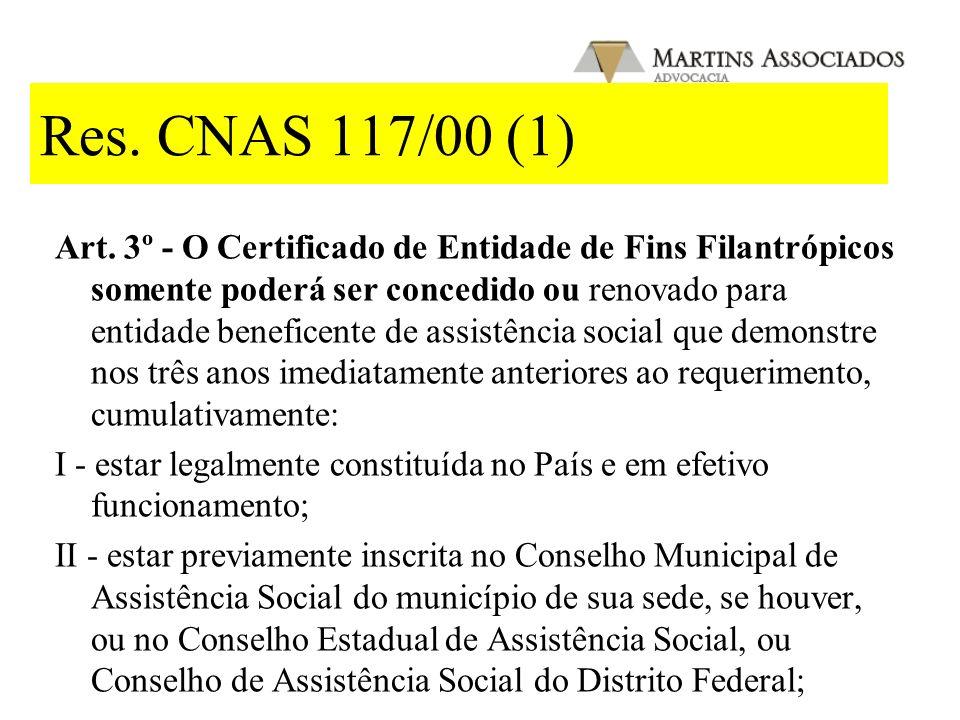 Dec. 2.536/98 Art 3º - Faz jus ao Certificado de Entidade de Fins Filantrópicos a entidade beneficente de assistência social que demonstre, nos três a